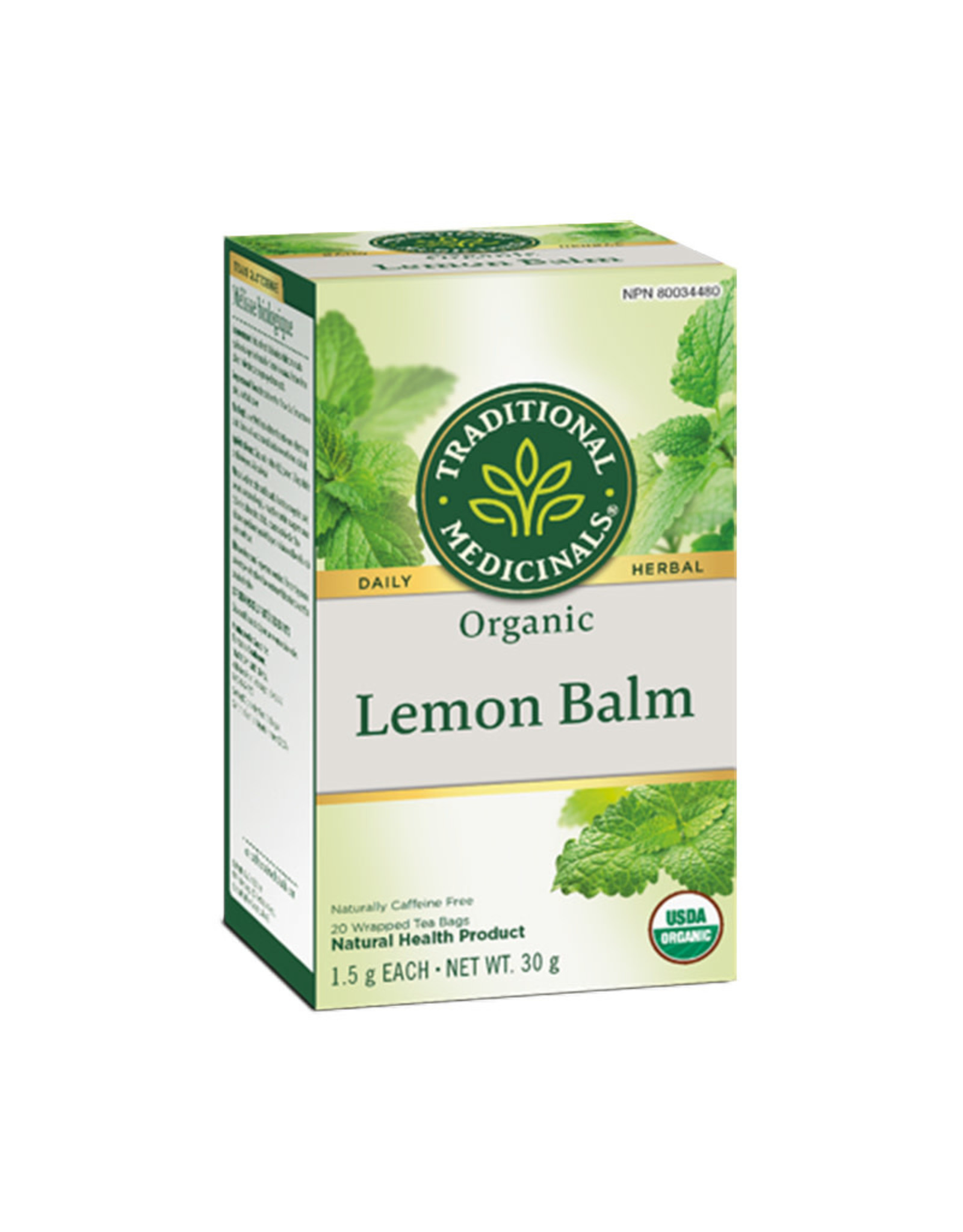 Traditional Medicinals Traditional Medicinals - Herbal Tea, Organic Lemon Balm