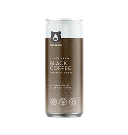 Two Bears Two Bears - Cold Brew Coffee, Latte Black (250ml)