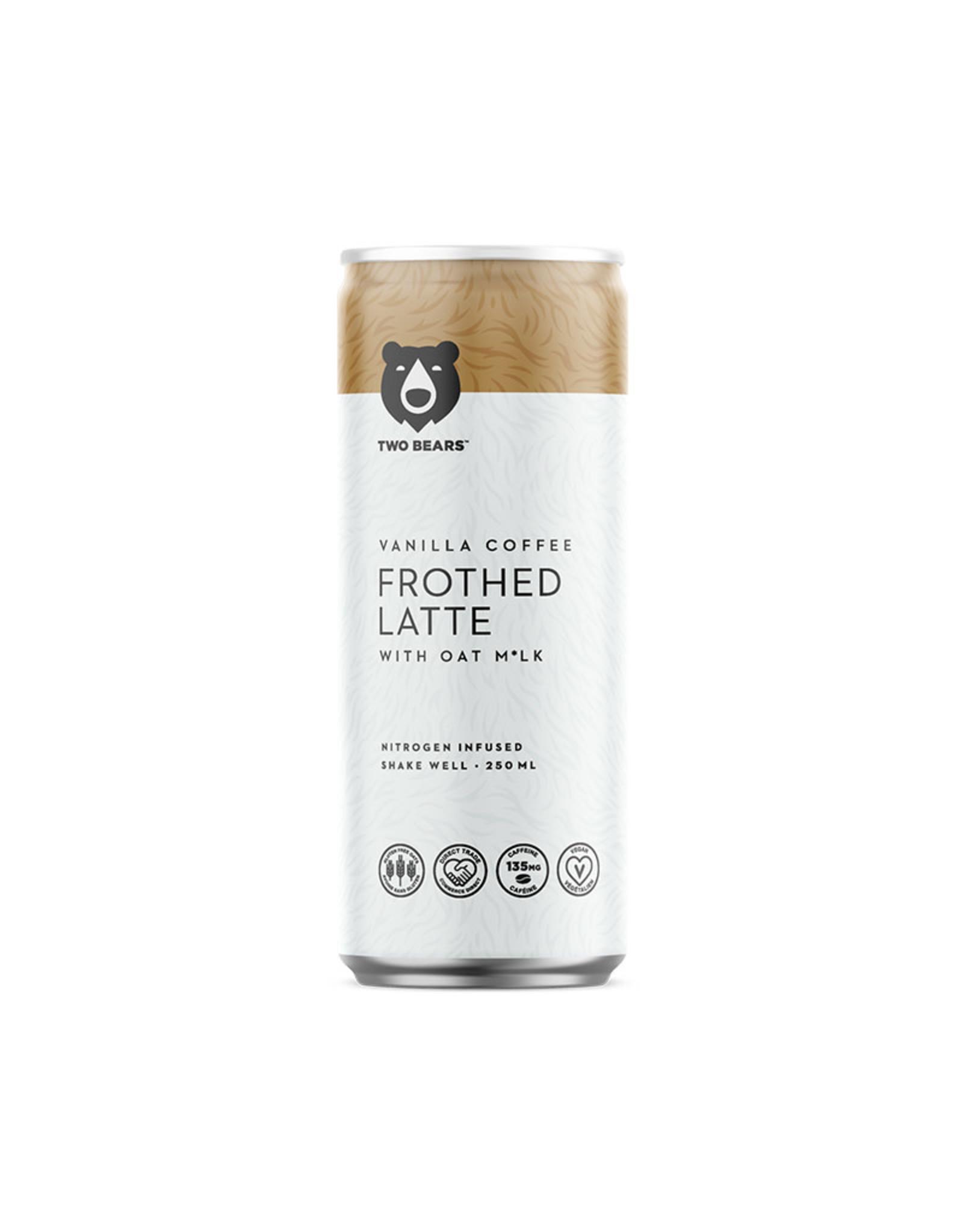 Two Bears Two Bears - Cold Brew Coffee, Latte Vanilla (250ml)