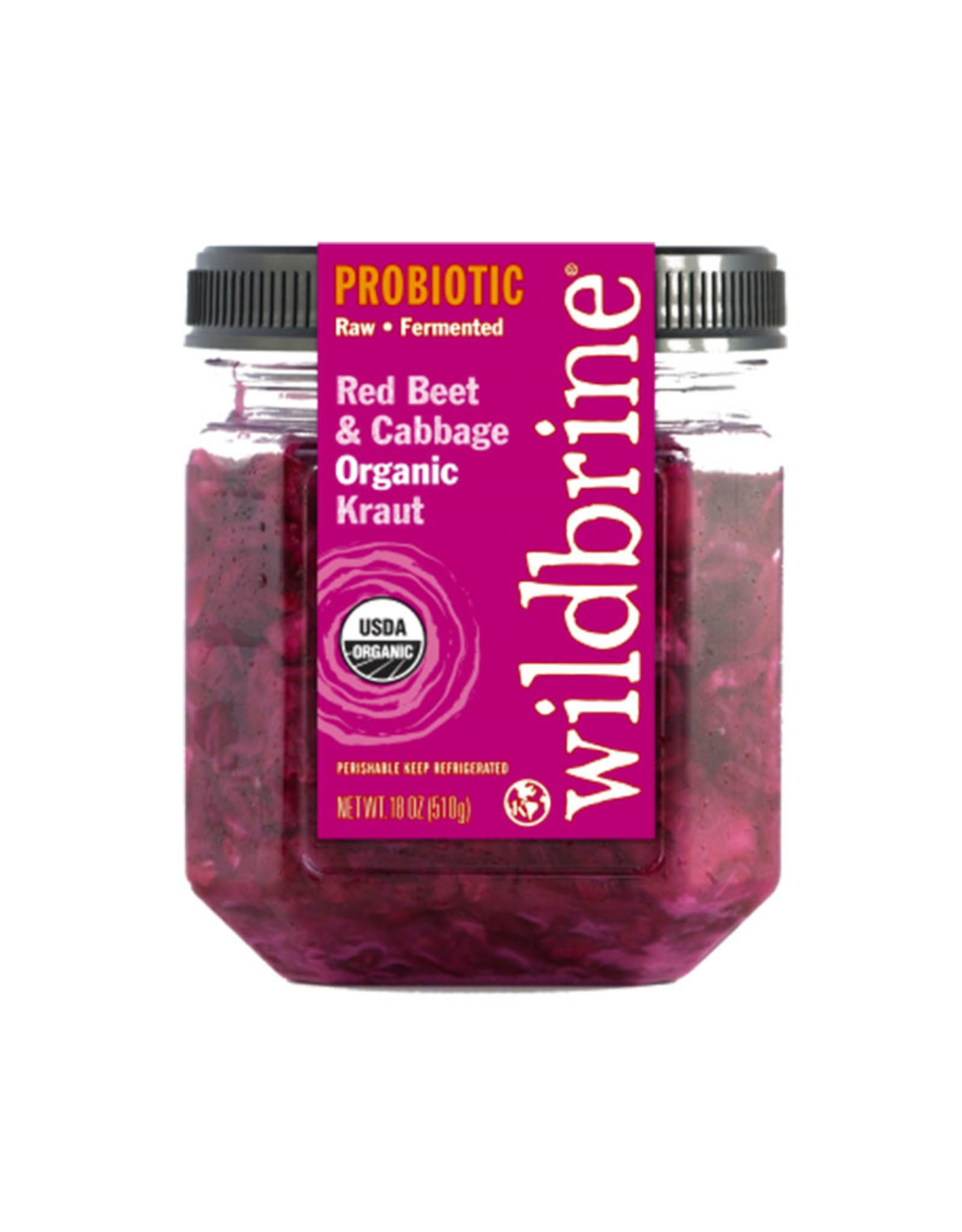 Wildbrine Wildbrine - Sauerkraut, Red Beet & Red Cabbage (500ml)