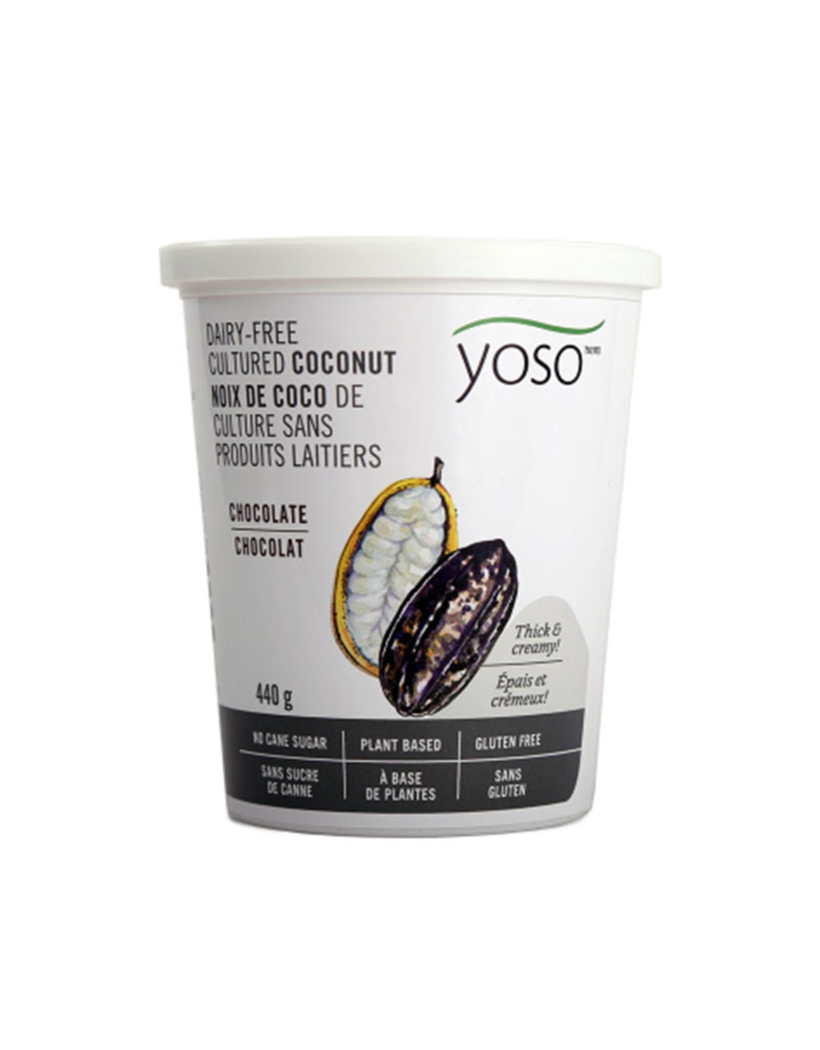 YOSO Yoso - Coconut Yogurt, Chocolate (440g)