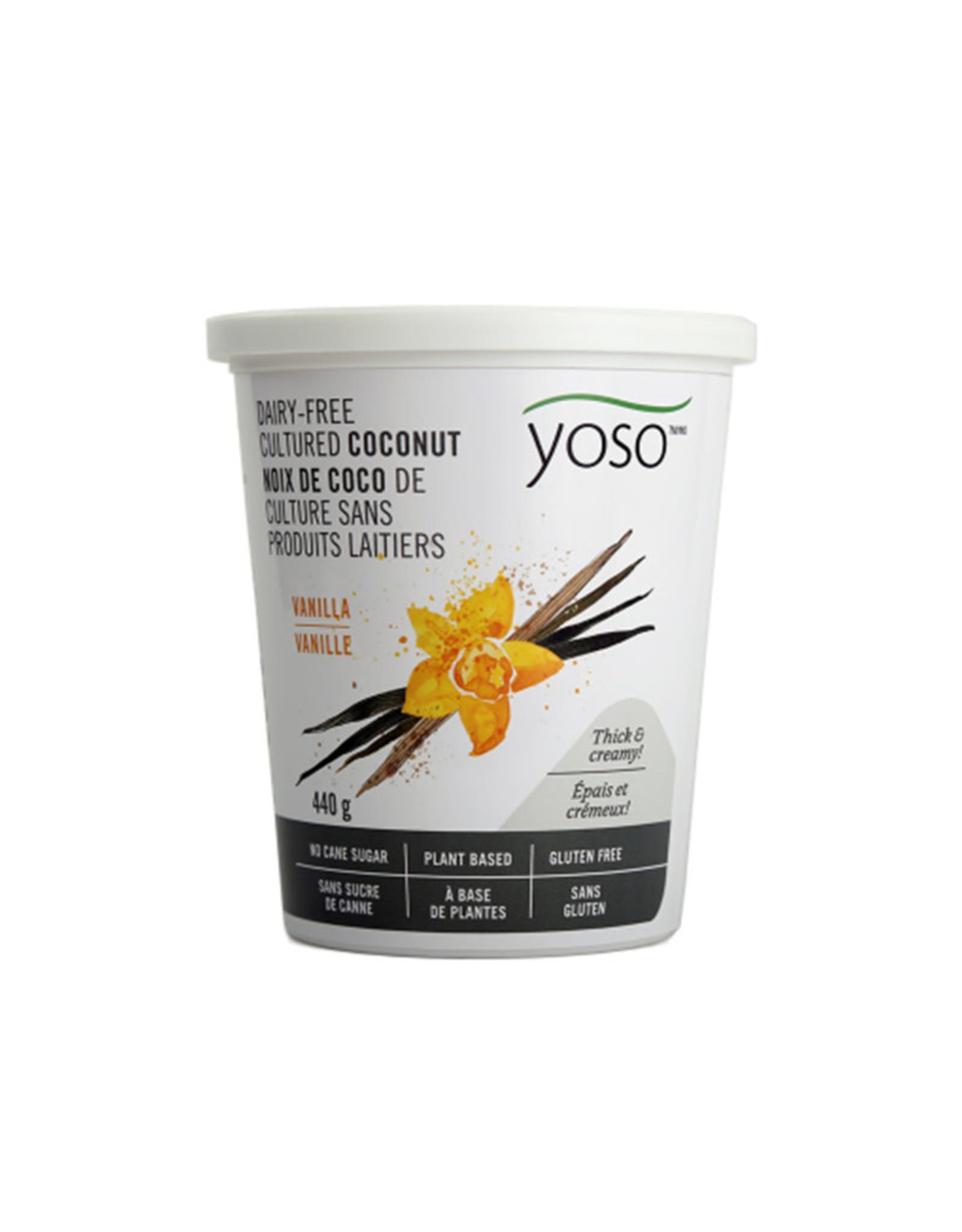 YOSO Yoso - Coconut Yogurt, Vanilla (440g)