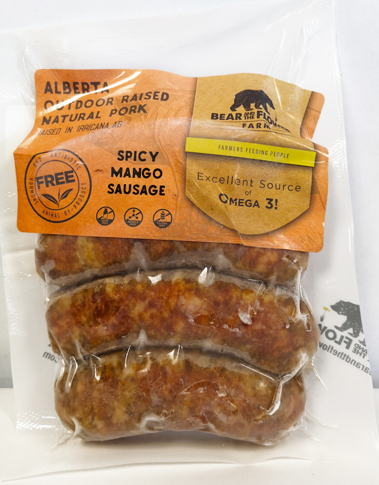 Bear and the Flower Bear and the Flower - Spicy Mango Sausage (300g)