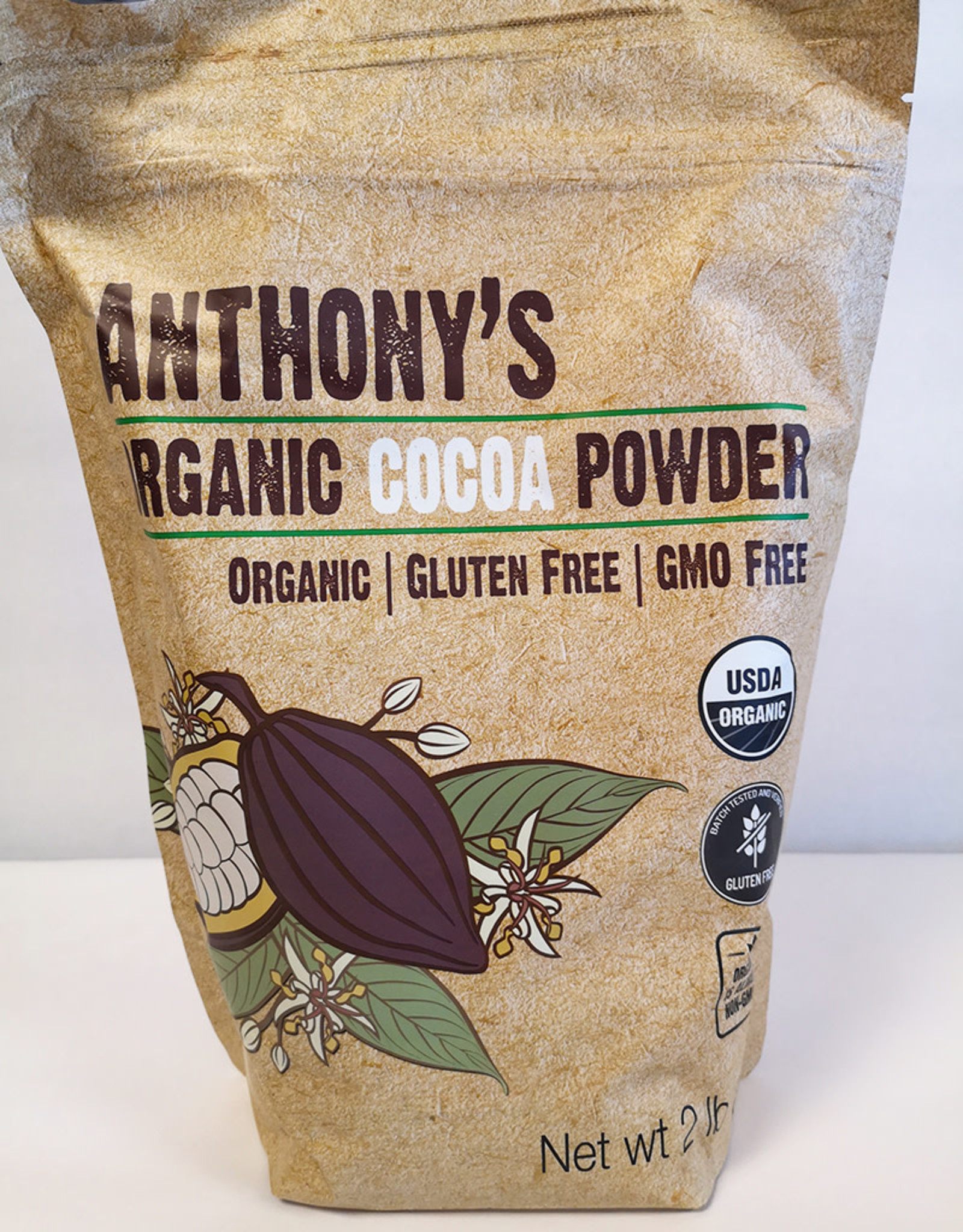 Anthonys Goods Anthonys Goods - Organic Cocoa Powder (2lbs)