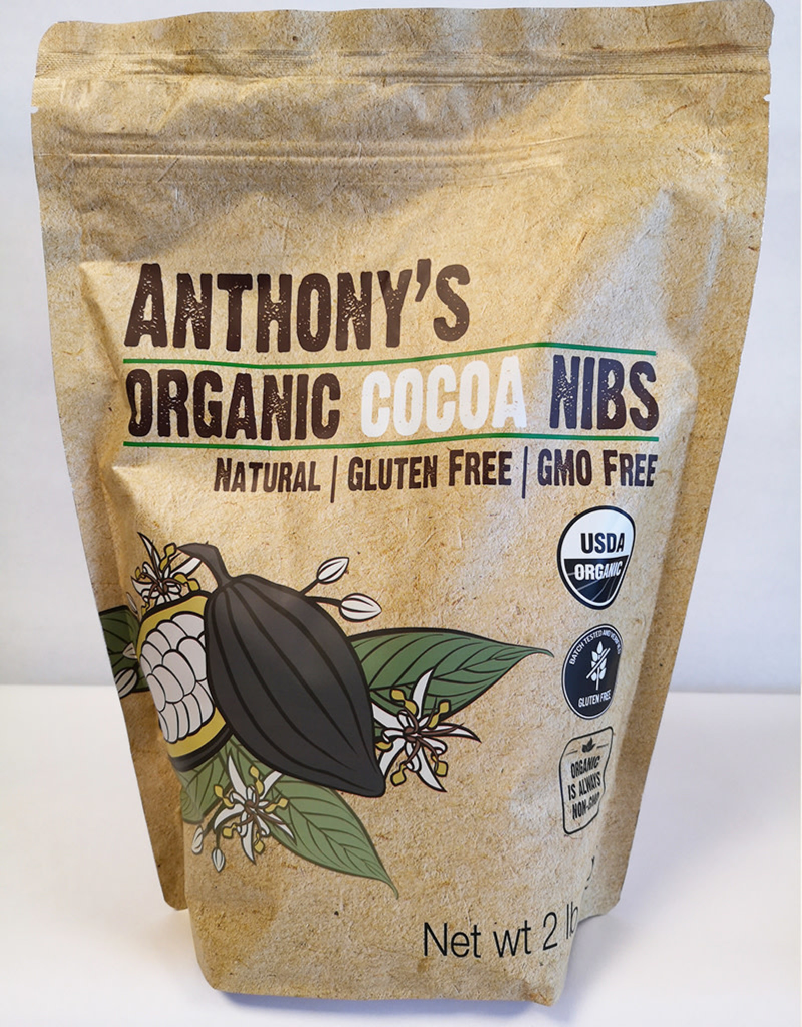 Anthonys Goods Anthonys Goods - Organic Cocoa Nibs (2lbs)