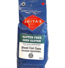Anita's Organics Anitas Organic - GF Oats, Steel Cut (900g)