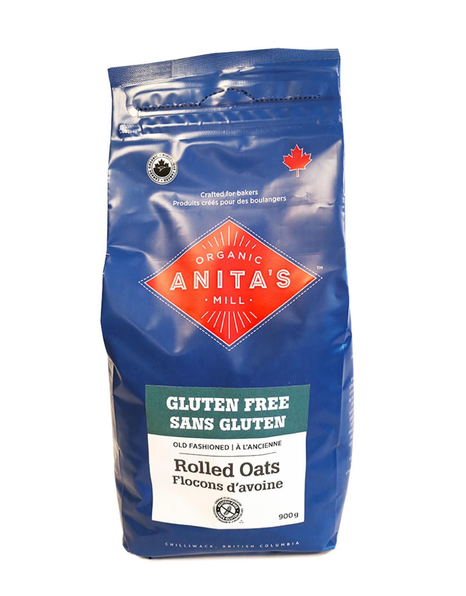 Anita's Organics Anitas Organic - GF Oats, Rolled (900g)