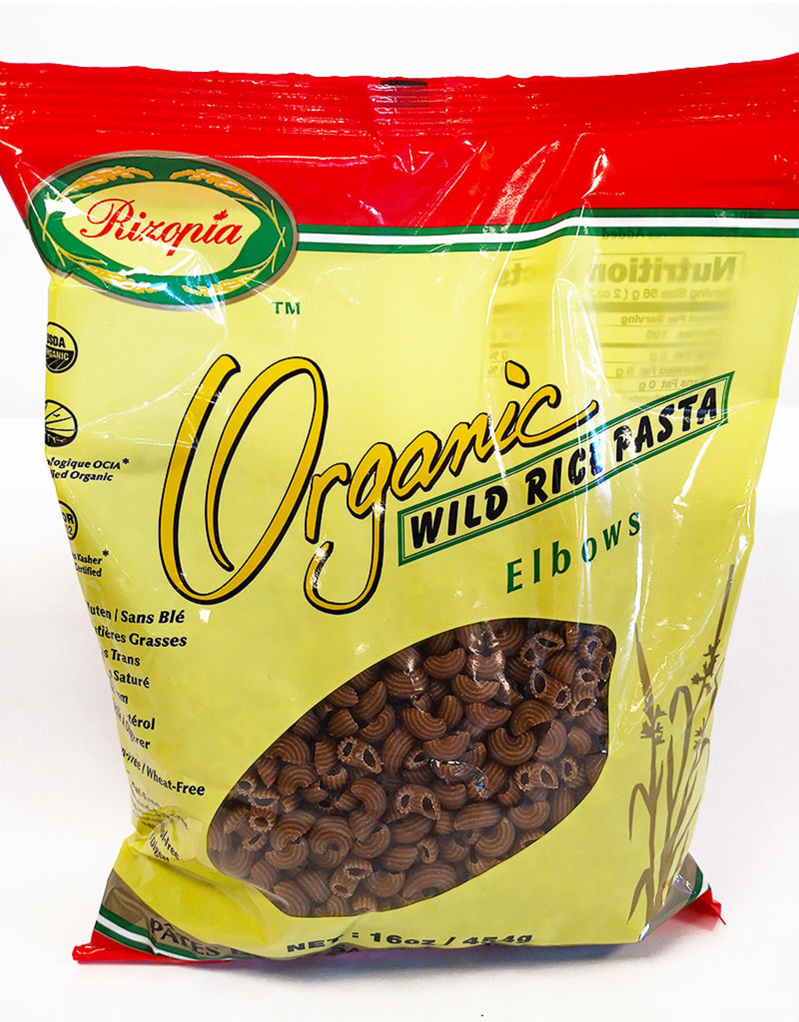 Rizopia Rizopia - Rice Pasta, Wildrice Elbow (454g)