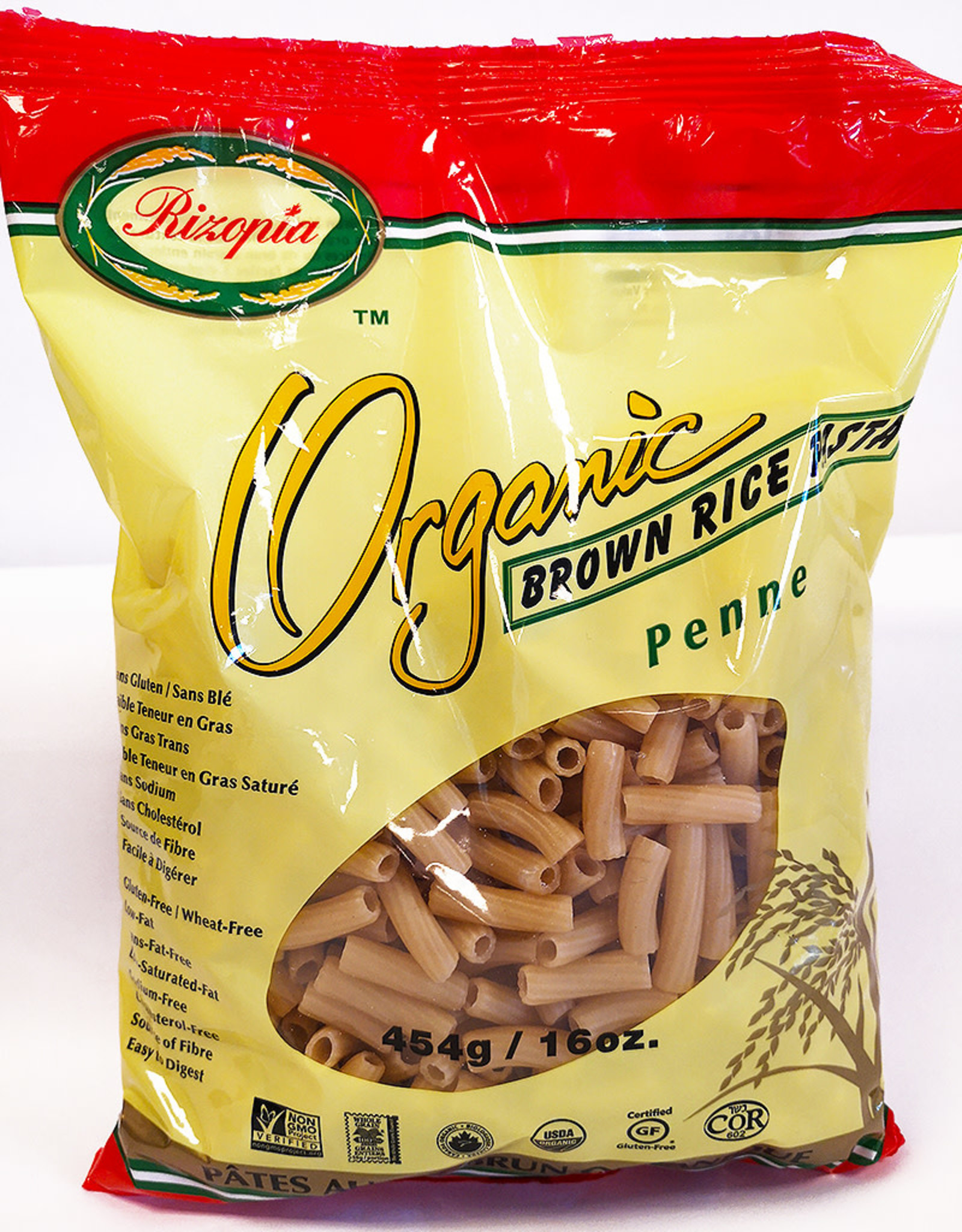 Rizopia Rizopia - Rice Pasta, Brown Rice Penne (454g)