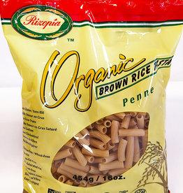 Rizopia Rizopia - Rice Pasta, Brown Rice Penne (454g)