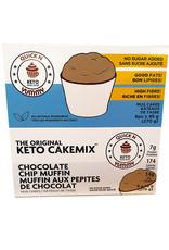 Quick n Yummy Quick n Yummy - Keto Cakemix, Choc Chip Muffin (6x45g)