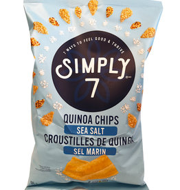 Simply 7 Simply 7 - Quinoa Chips, Sea Salt (99g)