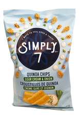 Simply 7 Simply 7 - Quinoa Chips, Sour Cream & Onion (99g)
