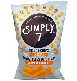 Simply 7 Simply 7 - Quinoa Chips, Cheddar (99g)
