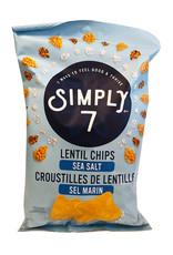 Simply 7 Simply 7 - Lentil Chips, Sea Salt (113g)