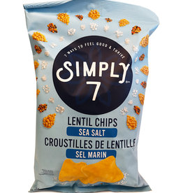 Simply 7 Simply 7 - Lentil Chips, Sea Salt (113g)