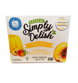 Simply Delish Simply Delish - Peach Jello (20g)
