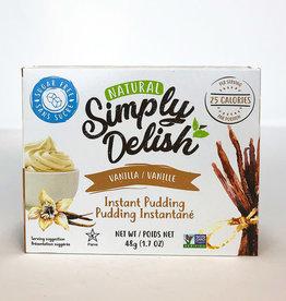 Simply Delish Simply Delish - Vanilla Pudding (48g)