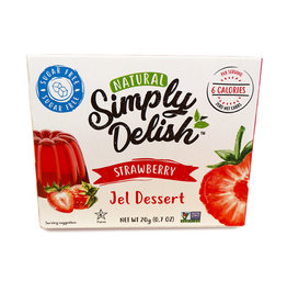 Simply Delish Simply Delish - Strawberry Jello (20g)