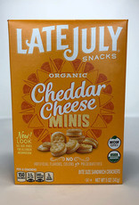 Late July Late July - Crackers, Mini Cheddar Sandwich (142g)