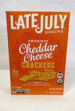 Late July Late July - Cracker, Bite Cheddar (142g)