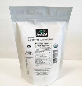 Indigo Indigo - Organic Unsweetened Toasted Coconut Chips (85g)