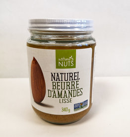 Natures Nuts Natures Nuts - Natural Almond Butter, Smooth (340g)