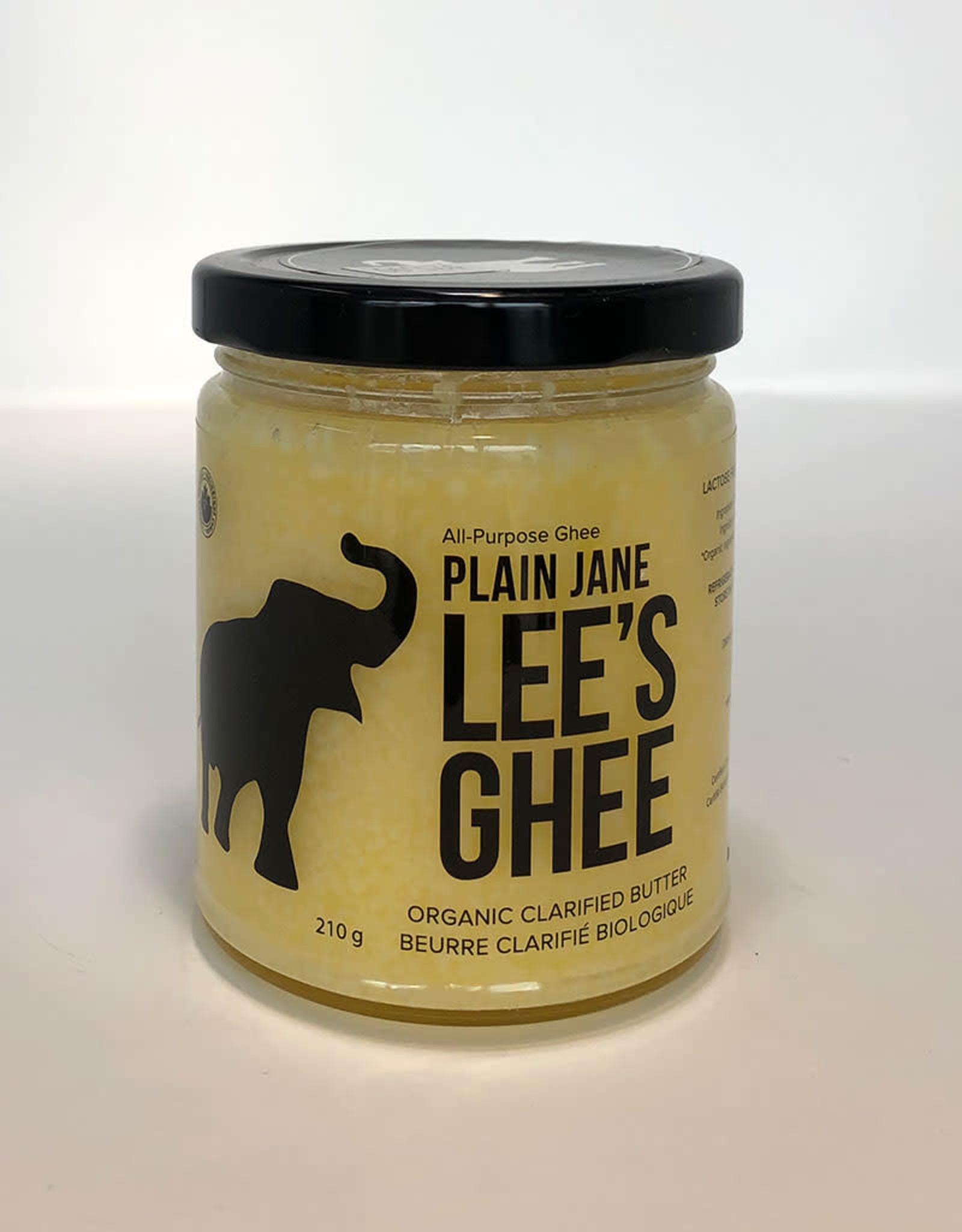 Lees Ghee Lees Ghee - Plain Jane (210g)