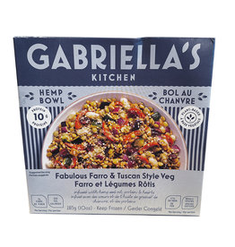 Gabriellas Kitchen Gabriellas Kitchen - Hemp Bowls, Fabulous Farro & Tuscan Veggies (283g)