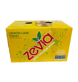 Zevia Soda Zevia - Soda, Lemon Lime Twist (6pk)