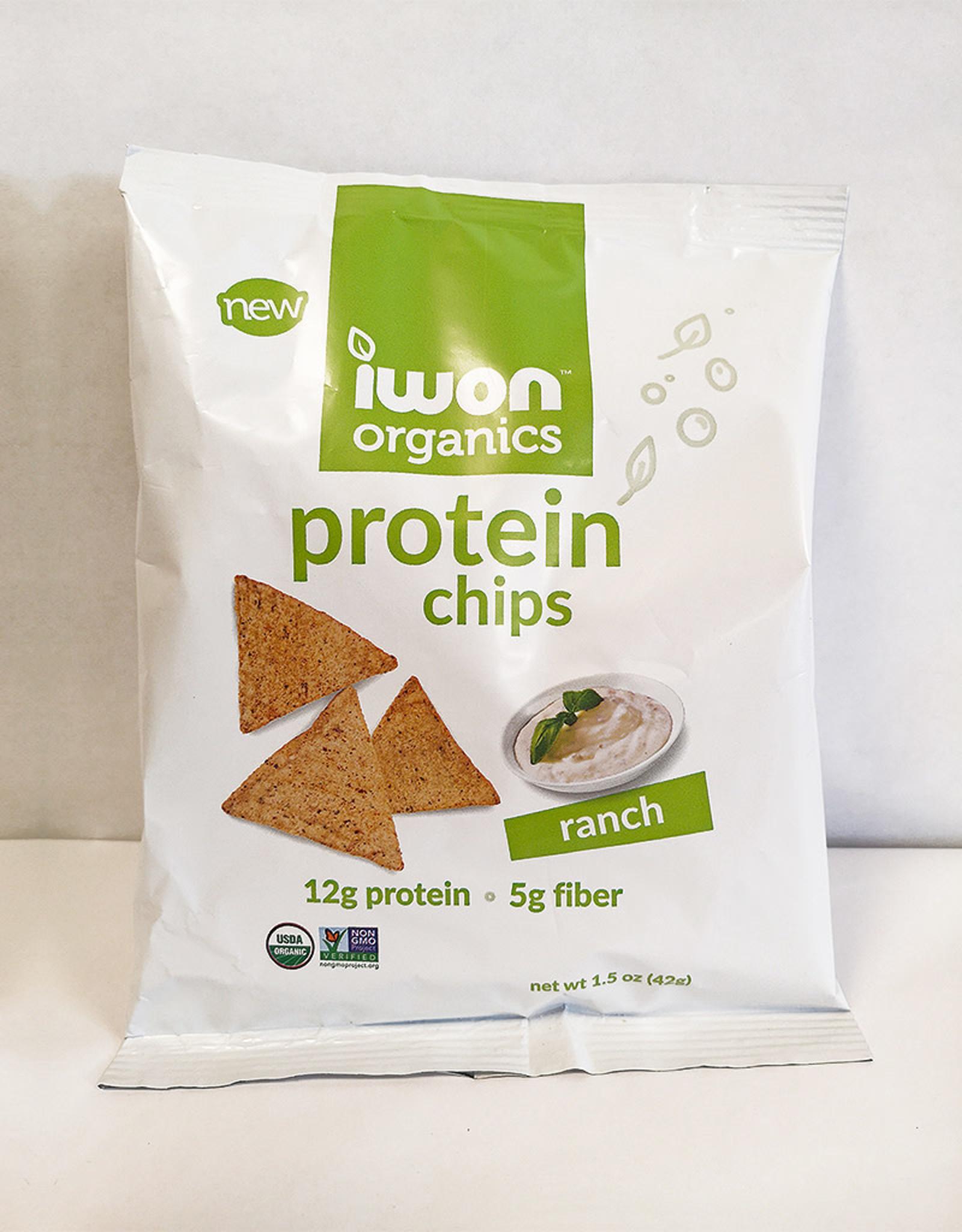 Iwon Organics Iwon Organics - Chips, Ranch (42g)