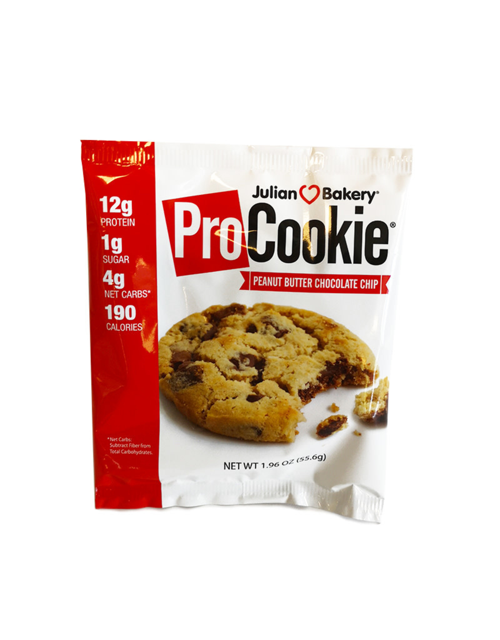Julian Bakery Julian Bakery - ProCookie, Peanut Butter Chocolate Chip (55.6g)