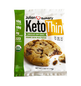 Julian Bakery Julian Bakery - KetoThin Cookie, Chocolate Chip (59g)