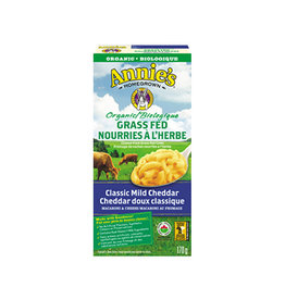 Annies Homegrown Annies Homegrown - Mac & Cheese, Organic Grass Fed Classic Mild Cheddar (170g)