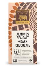 Endangered Species Endangered Species - Dark Chocolate Bar, Owl Sea Salt & Almond (85g)