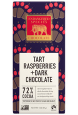 Endangered Species Endangered Species - Dark Chocolate Bar, Grizzly Red Raspberry (85g)