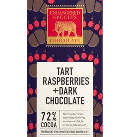 Endangered Species Endangered Species - Dark Chocolate Bar, Grizzly Red Raspberry (85g)