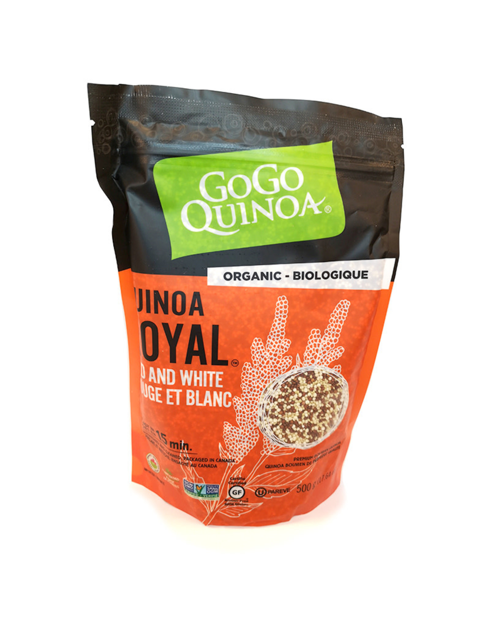 Gogo Quinoa GOGO Quinoa - Organic Royal Red & White (500g)