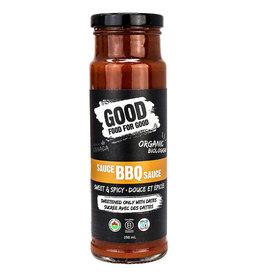 Good Food For Good Good Food For Good - Organic BBQ Sauce, Sweet Spicy (250ml)