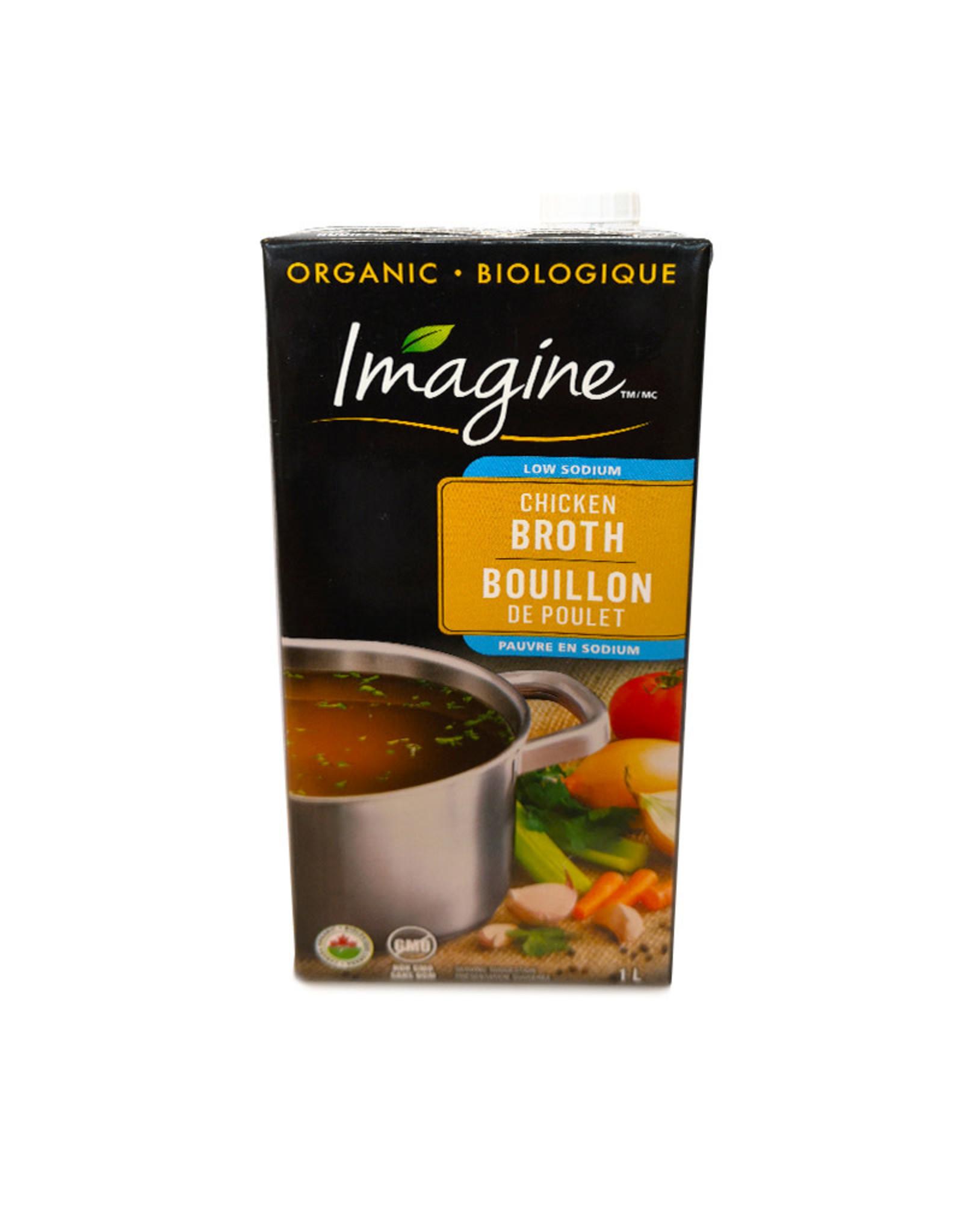 Imagine Foods Imagine Foods - Organic Broth, Low Sodium Chicken (1L)