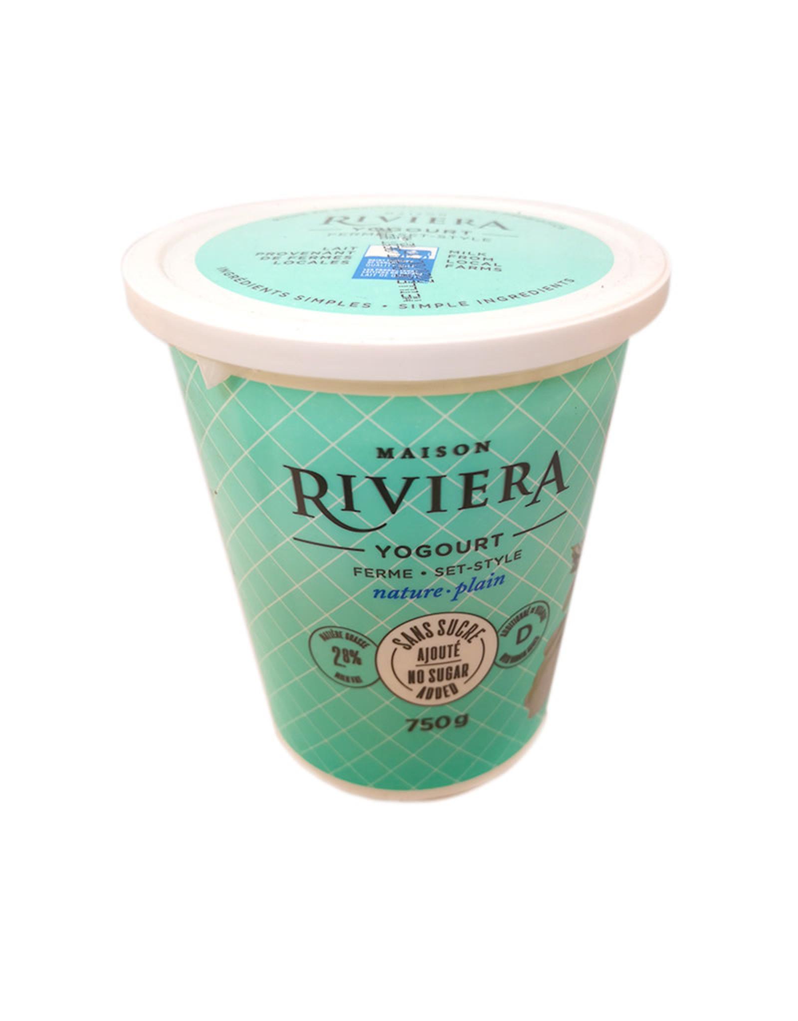 Maison Riveria Maison Riviera - Yogurt, Plain 2.8%  (750g)