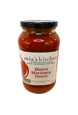 Mias Kitchen Mias Kitchen - Pasta Sauce, Bistro Marinara (710ml)