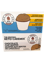 Quick n Yummy Quick n Yummy - Keto Cakemix, Choco Chip Muffin (45g)