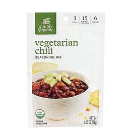 Simply Organic Simply Organic - Veggie Chili Seasoning Mix (28g)