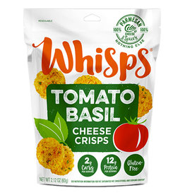 Whisps Whisps - Cheese Crisps, Tomato Basil (60g)