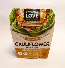Kitchen & Love Kitchen & Love - Cauliflower Quick Meal, Indian Curry (225g)