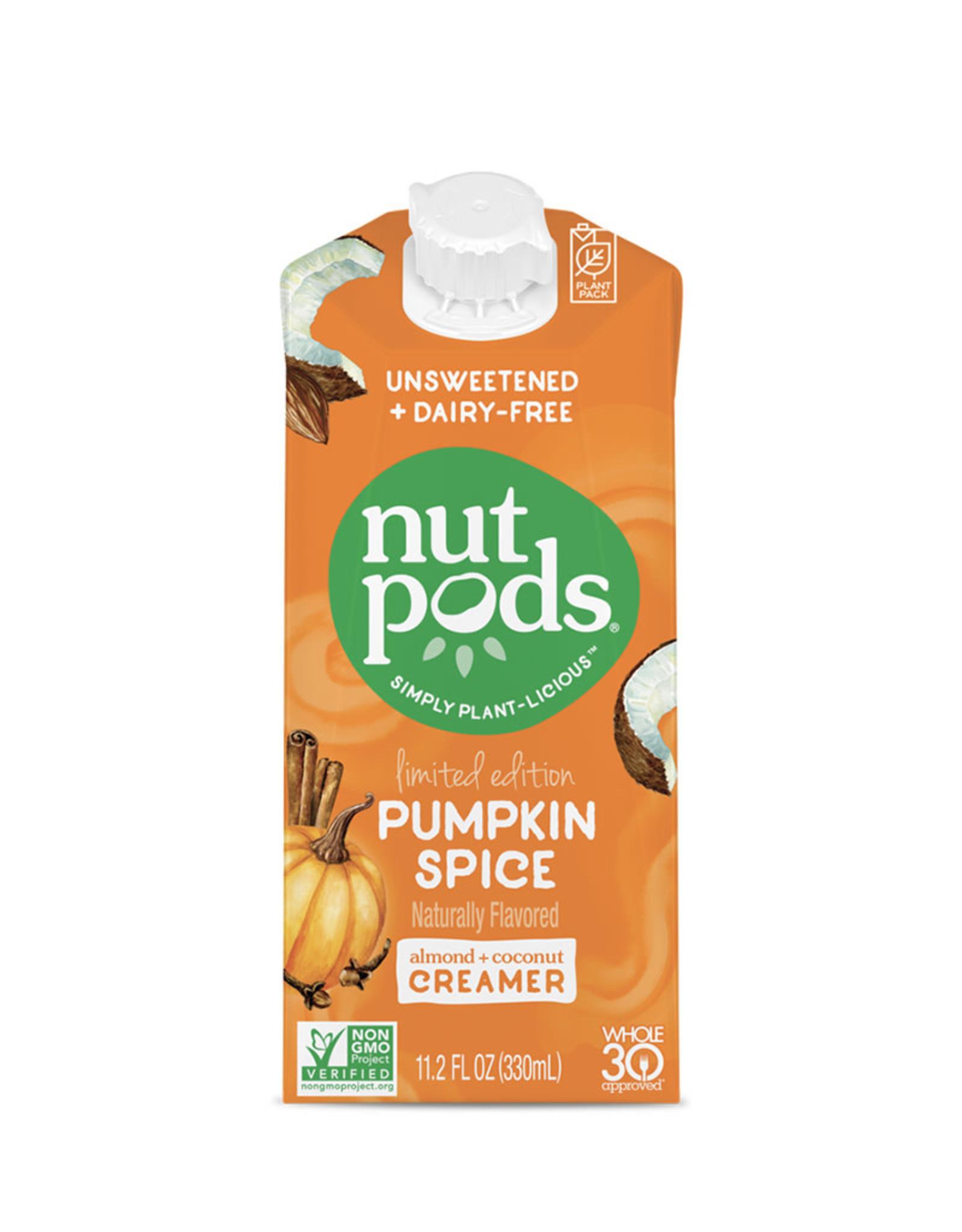 Nut Pods Nutpods - Unsweetened Dairy-Free Creamer, Pumpkin Spice (330ml)