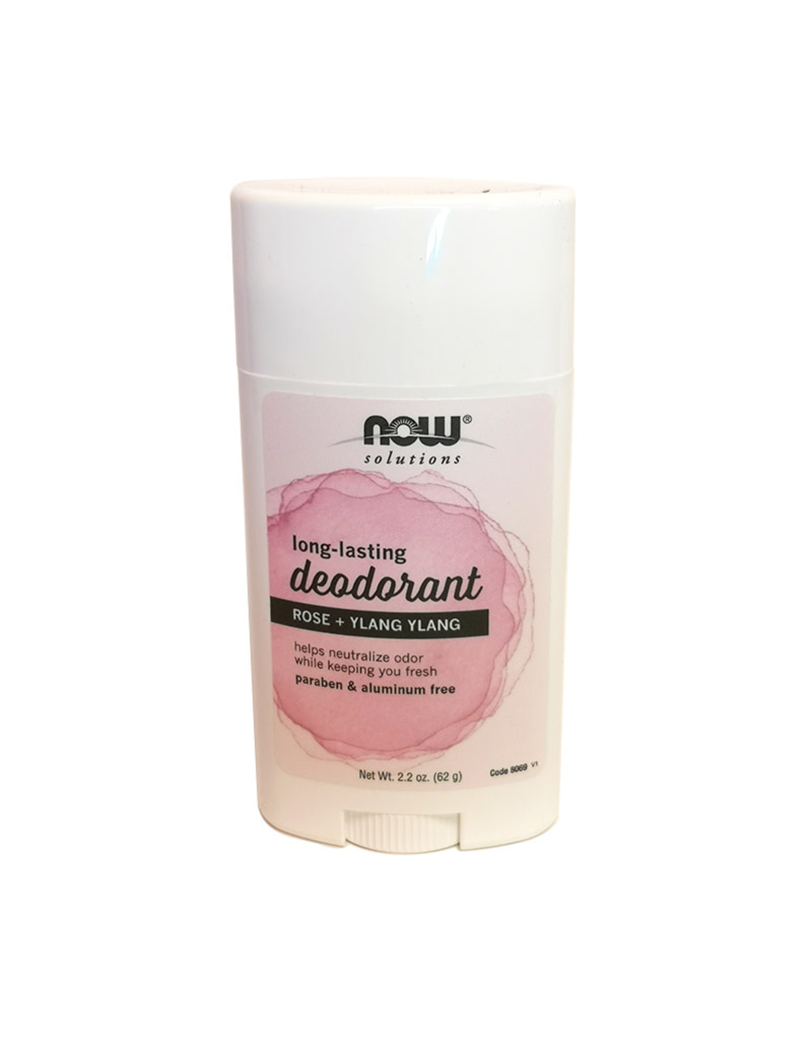 Now Solutions NOW Solutions - Deodorant Stick, Rose Ylang (62g)