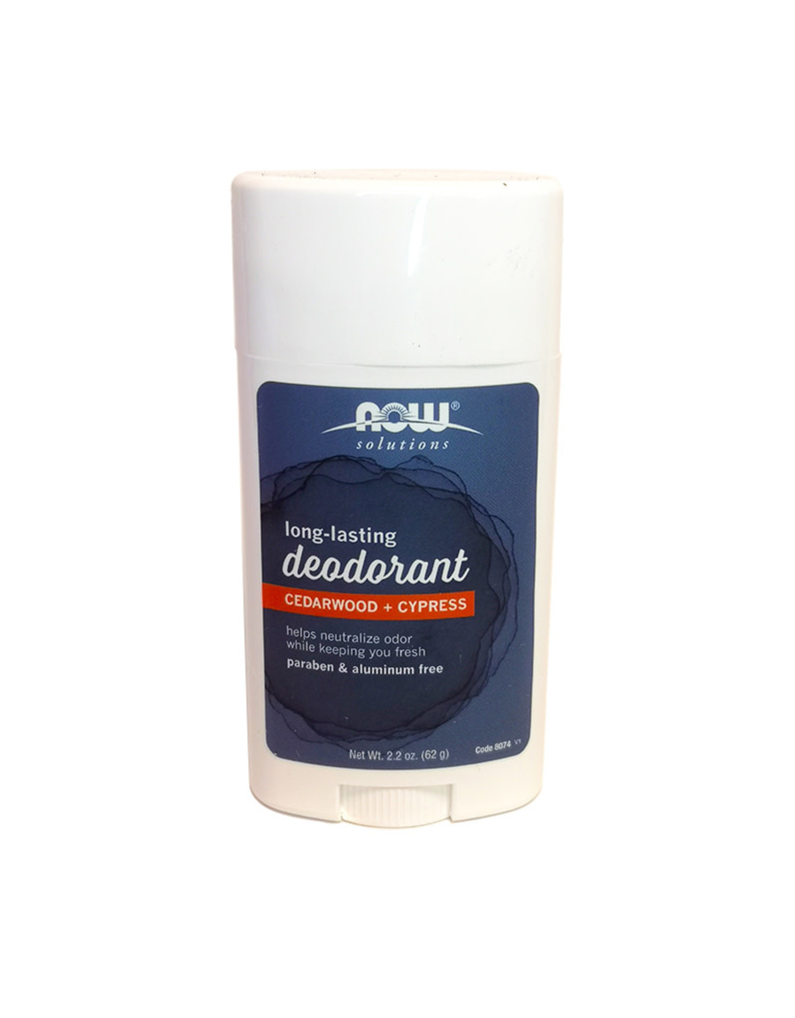 Now Solutions NOW Solutions - Deodorant Stick, Cedarwood Cypress (62g)