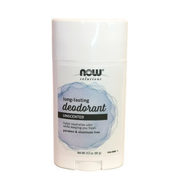 Now Solutions NOW Solutions - Deodorant Stick, Unscented (62g)